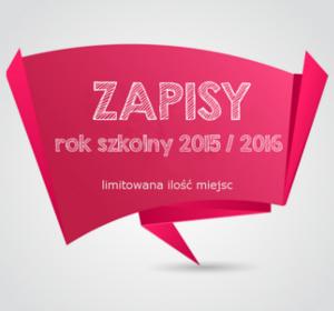 <span>Zapisy na rok szkolny 2015/2016</span><i>→</i>