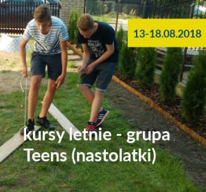 <span>Kursy letnie 2018 – grupa Teens (nastolatki)</span><i>→</i>