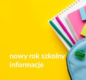 <span>Nowy rok szkolny – informacje</span><i>→</i>